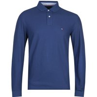 Tommy-Hilfiger-Navy-Long-Sleeve-Polo-Shirt