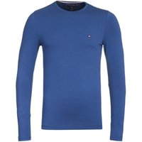 Tommy-Hilfiger-Stretch-Slim-Fit-Navy-Long-Sleeve-TShirt