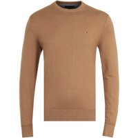 Tommy-Hilfiger-Pima-Cotton-Cashmere-Camel-Heather-Crew-Neck-Sweater