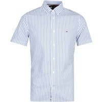 Tommy-Hilfiger-Slim-Seersucker-Stripe-White-Shirt
