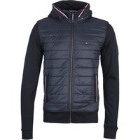 Tommy Hilfiger Mix Navy Zip Hooded Jacket
