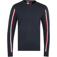 Tommy Hilfiger Navy Global Stripe Sweatshirt