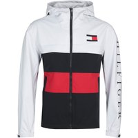 Tommy-Hilfiger-Colourblock-White-Hooded-Jacket