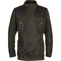 Barbour Gold Standard Supa-Corbridge Olive Wax Jacket