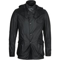Barbour Gold Standard Supa-Commander Black Wax Jacket