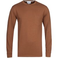 Norse Projects Johannes Brown Long Sleeve T-Shirt
