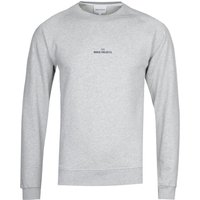 Norse Projects Ketel Wavy Logo Grey Sweatshirt