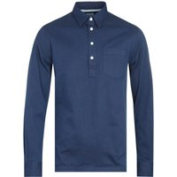 Norse Projects Oscar Indigo Half Placket Shirt