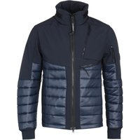 CP Company Soft Shell Navy Quilted Jacket