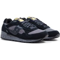 Saucony Shadow 5000 Black Suede Trainers