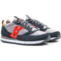 Saucony Jazz Original Vintage Grey & Orange Trainers