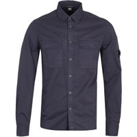 CP Company Button-Through Two Pocket Navy Shirt