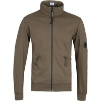 CP Company Arm Lens ZIp Through Dark Olive Track Jacket