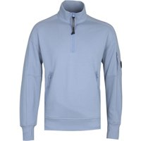 CP Company Quarter-Zip Blue Sweatshirt