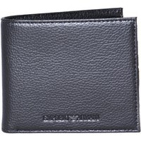 Emporio Armani Genuine Leather Black Wallet