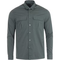 BOSS Niceto Relaxed Fit Utility Shirt - Army Green