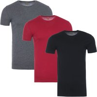 Polo-Ralph-Lauren-3-Pack-Crew-Neck-TShirts-Black-Red-and-Grey