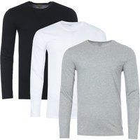 Polo-Ralph-Lauren-3-Pack-Long-Sleeve-TShirts-Black-White-and-Grey