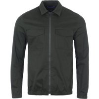 PS Paul Smith Technical Stretch Cotton Jacket - Dark Green