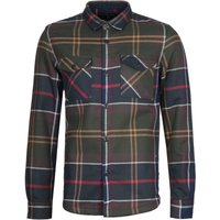 Barbour Cannich Tailored Fit Overshirt - Classic Tartan