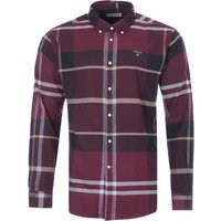Barbour-Iceloch-Tailored-Fit-Shirt-Winter-Red
