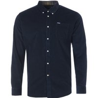 Barbour-Ramsey-Corduroy-Tailored-Fit-Button-Down-Shirt-Navy