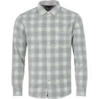 Tommy Hilfiger Frosted Check Corduroy Overshirt - Alabaster & Iron Grey