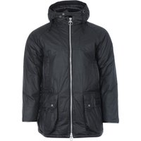 Barbour Gold Standard Scalpay Hunting Waxed Cotton Jacket - Black