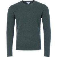 Norse Projects Sigfred Lambswool Crew Neck Sweater - Forest Green