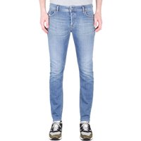 Diesel Sleenker Pantaloni Skinny Fit Light Blue Denim Jeans