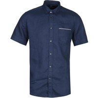 Diesel R-Emiko New Camicia Navy Short Sleeve Shirt