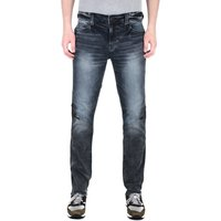 True Religion Geno Black Slim Fit Jeans