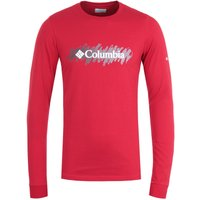 Columbia-Lodge-Red-Retro-Squiggle-Long-Sleeve-TShirt