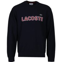 Lacoste Contrast Logo Navy Knitted Sweater