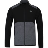 Lacoste Two-Tone Panel Lightweight Black Jacket