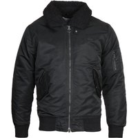 Lacoste Black Bomber Jacket
