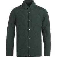 Lacoste Dark Green Quilted Jacket