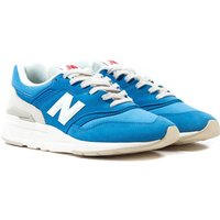 New Balance 997 Made in the USA Blue Suede Trainers