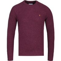 Farah-Garway-Bordeaux-Raglan-Sweater