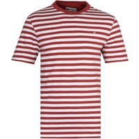 Farah Montego Vintage Rust Red Stripe T-Shirt