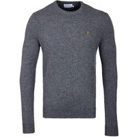 Farah-Rosecroft-Gravel-Marl-Lambswool-Sweater