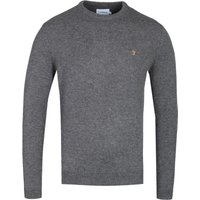 Farah-Rosecroft-Vinyl-Marl-Lambswool-Sweater