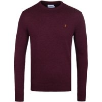 Farah-Rosecroft-Bordeaux-Lambswool-Sweater