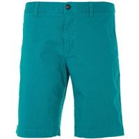 Lacoste Stretch Slim Fit Chino Shorts - Green
