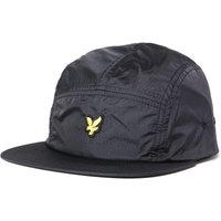 Lyle & Scott Ripstop 5 Panel True Black Cap