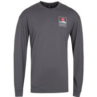 Edwin Sunset On Fuji Charcoal Grey T-Shirt