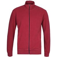 Edwin Trey Ruby Wine Red Funnel Neck Jacket