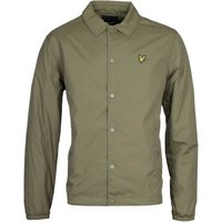 Lyle & Scott Lichen Green Coach Jacket