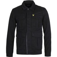 Lyle & Scott Jet Black Utility Jacket
