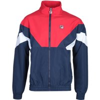Fila Colour Block Navy & Red Lightweight Jacket